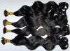 inidan pre bonded hair extension with stick tip