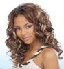kanekalon heat resistant fiber lady lace wig