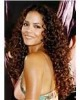 kinkly curl celebrity style human hair lace wigs for black women