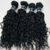 kinky curly human hair weft for african women
