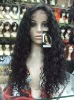 lace frontal wig,100 curly human hair wig