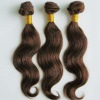 light brown brazilian human hair weft cuticle attached