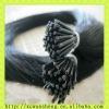long black hot sale I-tip hair extension