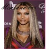 long charming full lace wig/women's human hair wig