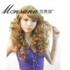 long deep wave human hair full lace wig for women