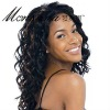 long kinky curl human hair full lace wig for black women