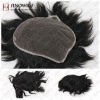 loose wave style toupee for male