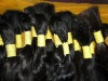 machine made dark brown 100% human hair weaving