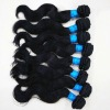 machine made loose body wave brazilian hair weave