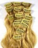 machine made remy human hair weave/weaving/weft,remy indian hair