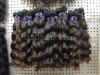 machine weft virgin remy hair extension for black ladies