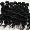 malaysian hair weft natural wavy hair