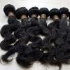 malaysian natural virgin hair,pure raw human hair weft