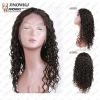 middle density deep wave wigs