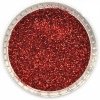 nail glitter powder-red color