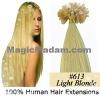 nail hair /U-tip hair extension keratin per-bonded