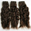 natural brown brazilian remy virgin hair weft