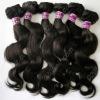 natural brown human hair remy malaysian weft