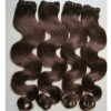 "natural brown remy european hair 22"" any color in stock"