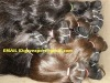 natural color #1B human hair machine wefts