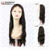 natural color natural straight 22 inches full lace wigs