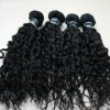 natural curly virgin indian remy hair with factory price
