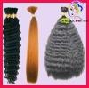 natural human hair raw material