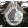 natural looking French lace toupee