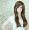 natural wave long golden hair wig