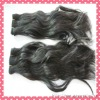 new style natural wave hair weft 100% indian remy hair extension