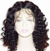 new style top quality kinky curly full lace wigs