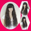 newest party long curl wig