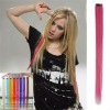 non-remy Indian cli-in colored hair extenisons