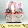 organza box  bath gift set(Item No:FW1104010PI)