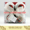 paper wrap bath fizzer in PVC box
