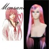 perfect-cool Air Gear Simca Pink Cosplay synthetic Wig