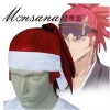 perfect-cool Bleach Abarai Renji Cosplay synthetic Wig