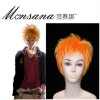 perfect-cool Bleach Ichigo Kurosaki Cosplay synthetic Wig