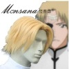 perfect-cool Bleach Tesla Cosplay synthetic Wig