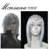 perfect-cool Final Fantasy Kadaj Cosplay synthetic Wig