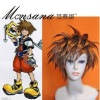 perfect-cool Kingdom Hearts II Sora Cosplay synthetic Wig