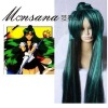 perfect-cool Sailor Moon Sailor Pluto Cosplay synthetic Wig