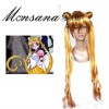 perfect-cool Sailor Moon Serena Tsukino Cosplay synthetic Wig