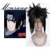 perfect-cool natural color Naruto Sasuke Uchiha Cosplay synthetic Wig