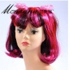 perfect-cool purple fans synthetic wig