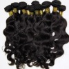 peruvian natural raw human hair weaving free from chemical treatment
