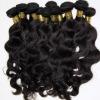peruvian natural raw human hair weaving free from chemical treatment