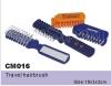 plastic foldable travel hairbrush