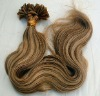 pre bonded hair extension Nail U tip hair extension