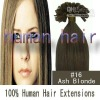 prebonded hair extension U tip